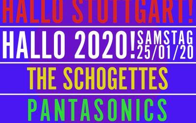 HALLO STUTTGART! HALLO 2020!